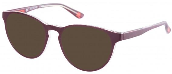 Superdry SDO-KATLYN Sunglasses in Matte Burgundy