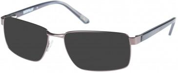 CAT CTO-RIVETER Sunglasses in Matte Gun