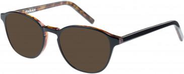 Farah FHO-1011 Sunglasses in Black/Tortoiseshell