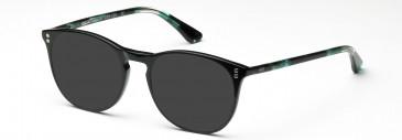 Crosshatch CRF529 Sunglasses in Matt Black