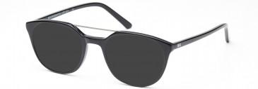 Crosshatch CRF533 Sunglasses in Shiny Black