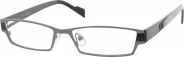 Jai Kudo Farringdon Glasses in Gunmetal