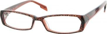 Jai Kudo Old Street Glasses in Brown/Black