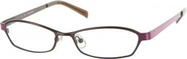 Jai Kudo Sloane Sq Glasses in Brown