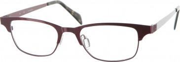 Jai Kudo St Martinss Glasses in Red