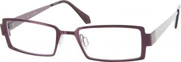 Jai Kudo Trafalgar Sq Glasses in Purple