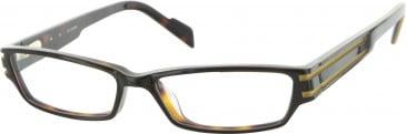 Jai Kudo Waterloo Glasses in Brown