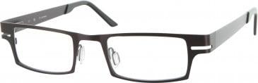 Jai Kudo Whitehall Glasses in Brown
