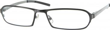 Jai Kudo 492 Glasses in Dark Gunmetal
