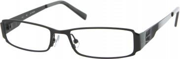 Jai Kudo 502 Glasses in Black