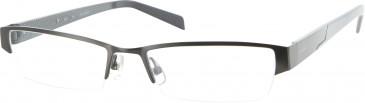 Jai Kudo 505 Glasses in Dark Gunmetal