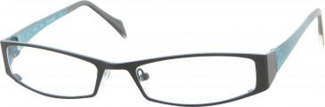 Jai Kudo 520 Glasses in Black