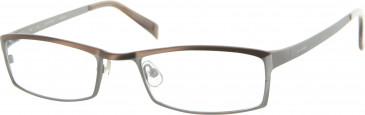Jai Kudo 1480 Glasses in Brown/Gunmetal