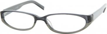 Jai Kudo 1712 Glasses in Black/Grey