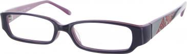Golddigga GD0022 Glasses in Purple
