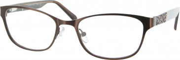 Golddigga GD0060 Glasses in Brown