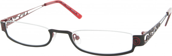 Andrew Actman Sylph Glasses in Black/Red