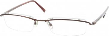 Jai Kudo 408 Glasses in Brown