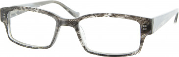 Jai Kudo Park Lane Glasses in Black/White