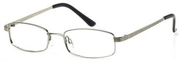 SFE-9197 Glasses in Medium Gunmetal