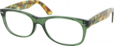 Ray Ban RB5184-54 glasses in Green Havana