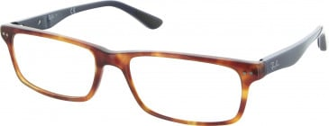 Ray Ban RB5277 glasses in Red Havana