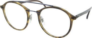 Ray Ban RB7111 glasses in Brown Havana