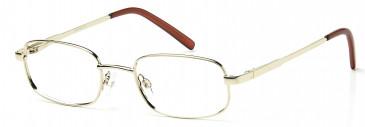 SFE-9935 SATC glasses in Gold