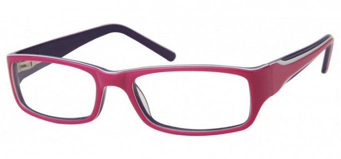 SFE Collection Ready-Made Reading Glasses Purple/Pink