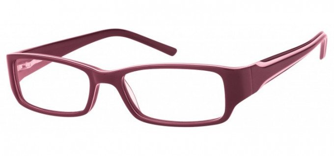 SFE Collection Ready-Made Reading Glasses Purple/Ivory