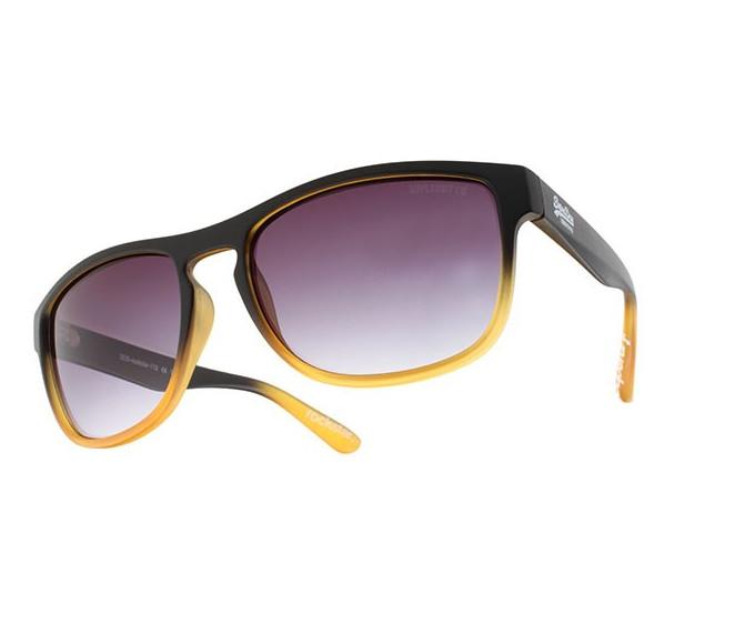 SUPERDRY Rockstar Sunglasses in Black/Orange