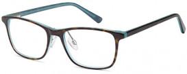 SFE-10053 DEL131 glasses in Demi Blue