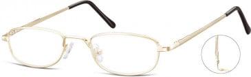 SFE-10118 784 glasses in Gold