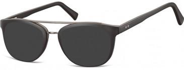 SFE-10137 AC16 sunglasses in Black
