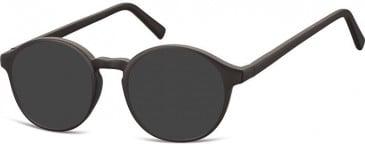 SFE-10138 AC18 sunglasses in Black