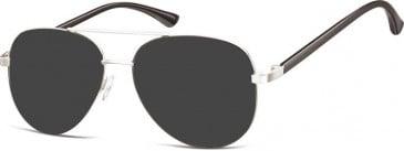 SFE-10129 931 sunglasses in Silver/Black
