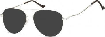 SFE-10130 932 sunglasses in Silver