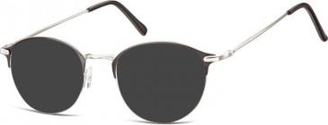 SFE-10131 933 sunglasses in Silver/Black