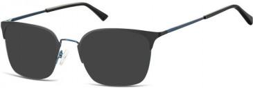 SFE-10135 937 sunglasses in Blue/Silver