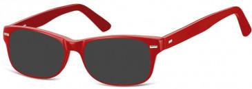 SFE-10143 AK49 sunglasses in Red