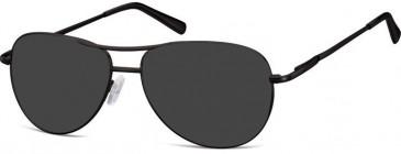 SFE-10151 MK1-52 sunglasses in Matt Black