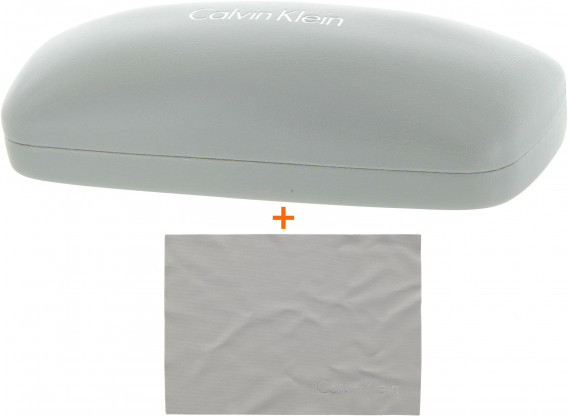 Calvin Klein Glasses Case and Cloth Bundle
