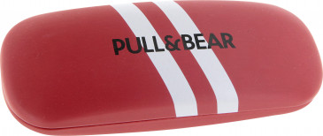 Pull & Bear Glasses Case in Red/White