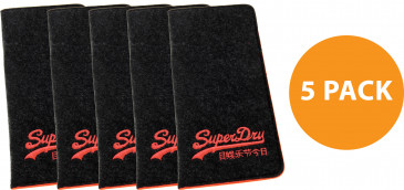 Superdry Felt Pouch (5 Pack)