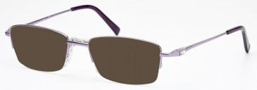 SFE-10203 sunglasses in Shiny Purple