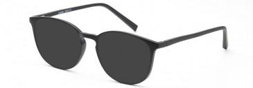 SFE-10206 sunglasses in Matt Black