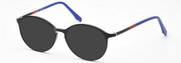 SFE-10207 sunglasses in Shiny Black