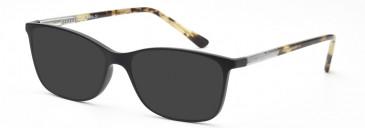 SFE-10208 sunglasses in Matt Black