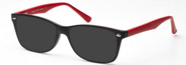 SFE-10211 sunglasses in Red