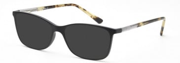 SFE-10208 sunglasses in Matt Black